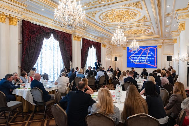 The Russian Convention Bureau took part in St  Petersburg